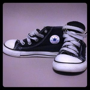 Converse Chuck Taylor All Star baby black size 7c